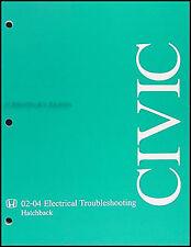 2003-2004 Honda Civic Si Electrical Manual