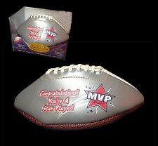 Mvp Special Achievement Football Award ~ Mvp's Autographed Keepsake Football New
