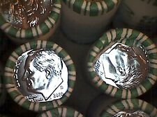 2010 -P 10C Roosevelt Dime roll.. N. F STRING AND SON... HEADS/ TAILS ROLLS