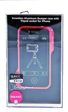 Ozaki O!Photo Bumper Screwless Aluminum Frame Case for iPhone 4 / 4S - Red