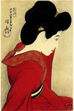 Japanese Art Print: Before The Mirror: Ito Reproduction