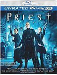 PRIEST UNRATED BLU RAY 3D + BLU RAY NEW! HALLOWEEN, FANTASY, VAMPIRE CRUSADE