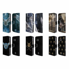Anne Stokes Leather Mobile Phone Wallet Cases