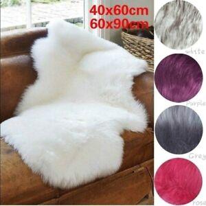 Modern Sheepskin Rug Fluffy Soft Wool Shaggy Area Rugs Faux Fur Rug Hairy Mats