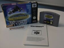 Tony Hawk's Skateboarding OVP (Nintendo 64, 2000) N64 Pal 2 Player selten RAR