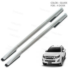 Roof Rail Bar Silver 2 Pc For Isuzu D-max D Max Holden Rodeo 4 Door 2015 - 2017