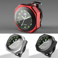 Waterproof 7/8'' CNC Motorcycle Motorbike Handlebar Mount Clock Glow Watch
