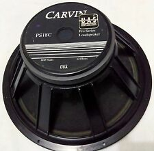 """EMINENCE CARVIN PS18 PS18C 4 OHMS 18""""SPEAKER WOOFER WITH 60 DAYS WARRANTY"""