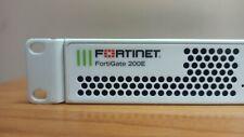 Fortinet FortiGate-200E  - FG-200E  Network VPN Security Firewall  NO IOS