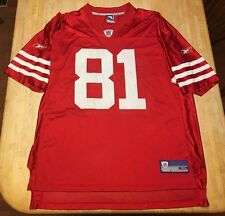 Vintage Mens Reebok San Francisco 49ers Terrell Owens Jersey XL