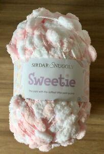 Sirdar Snuggly Sweetie Pom Pom Yarn - 200g - Bon Bon