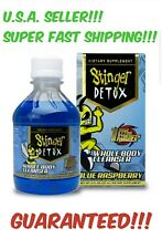 STINGER Blue Rasberry 1 HOUR STRONG Detox Cleanser! FAST Acting! FAST SHIP! Deal