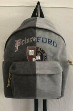 Backpack Steve Madden  1/2 Princeton 1/2 Hamford College Two Tone Gray Back Pack