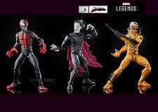 """Venom Marvel Legends WAVE 1- MILES   MORBIUS   PHAGE - 6"""" Figures Venompool BAF"""