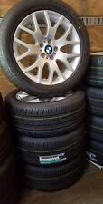 BMW e70 X5 19in Bridgestone wheel set OEM brand new