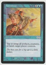1x TURNABOUT - Urza's Saga MtG Magic The Gathering Uncommon Blue Instant NM