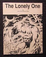 1989 THE LONELY ONE by Joe Gill & Steve Ditko FN- 5.5 1st Edition