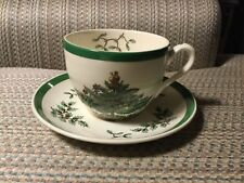 SPODE -- CHRISTMAS TREE -- CUP & SAUCER -- MADE IN ENGLAND - 14 AVAILABLE -