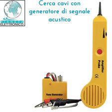 CERCA CAVI CON GENERATORE DI SEGNALE ACUSTICO 8220-VTTEST11N