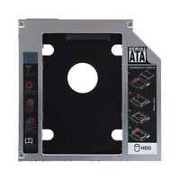 "Universal 12.7mm 2.5"" SATA HDD SSD Hard Drive Caddy Optical DVD Bay Adapter"