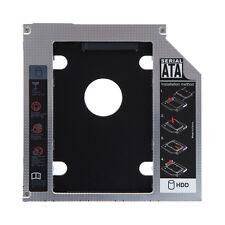 "Universal 12.7mm 2.5"" SATA HDD SSD Hard Drive Caddy Optical DVD Bay Adapter"