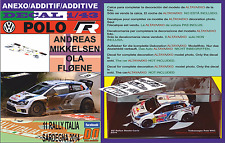 ANEXO DECAL 1/43 VOLKSWAGEN POLO R WRC A.MIKKELSEN R.ITALIA 2014 4th (12)