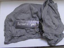Jerseyschal Crinkleoptik Hellgrau Silbergrau von Barbara Speer