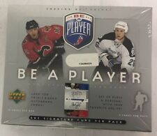 2005-06 Upper Deck Be A Player Factory Sealed Hobby Hockey Box