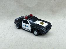 Tyco Ho Slot Car Ford Mustang Police Patrol New avec sirène, Gyro et U-Turn