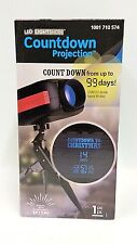 Christmas Countdown Projection Projector LightShow LED