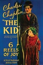 CHARLIE CHAPLIN - THE KID MOVIE POSTER - 24x36 CLASSIC 0330