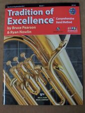 Baritone Tradition Of Excellence Cd Included *Brand New*