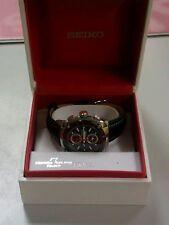 Seiko Quartz (Automatic) Genuine Leather Strap Wristwatches