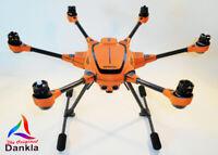 YUNEEC TYPHOON H - SKIN - Carbon Orange / Wrap / Decal / Foil / Folie / Drohne