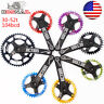 Crankset 30-52T 104BCD Crank 170mm Narrow Wide Chainring MTB Bike Chainwheel CNC