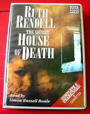 Ruth Rendell The Secret House Of Death 6-Tape UNABR.Audio Bk Simon Russell Beale