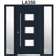WeltHaus Haustüren WH94  Aluminium mit Kunststoff mit 2Seitenteil LA350 Haustür
