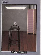Polaroid Miniportrait MODE D'EMPLOI instructions dans 9 langues Nº 376