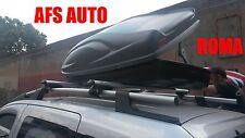 BOX AUTO PORTAPACCHI PORTATUTTO G3 ALL-TIME 400 LT+BARRE FIAT QUBO 2000 CN RAILS