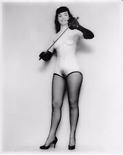 Bettie Page nude pinup 8x10 print 005
