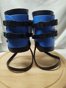 TEETER HANG UPS SL SPYDER EZ-UP GRAVITY INVERSION BOOTS CALF LOOPS PRE OWNED