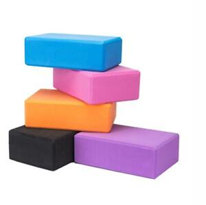 1pc Yoga Block EVA Foam Fitness Brick Pilates Gym Workout Stretching Tool