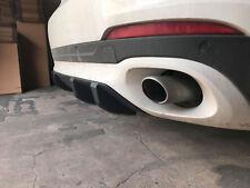 For BMW X6 F16 Performance Rear Bumper spoiler Valance M Splitter Flap Diffuser