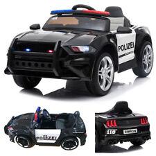 ?? POLIZEI Auto 2x Motoren Elektro Kinderauto Kinder Elektroauto Fernbedienung