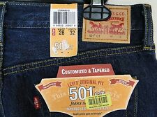 Women's Levi's 501ct Jeans Tapered Leg Button Fly MSRP $49.99 NWT - 28 x 32