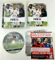 Jeu Playstation 3 PS3 VF  Fifa 10  avec notice  Envoi rapide et suivi