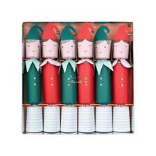 MERI MERI CHRISTMAS Festive Elf Christmas Crackers 2019 (6 Pack)