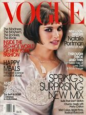 NATALIE PORTMAN ~~ Vogue Magazine ~~ February 2004 ~~ 2/04 ~~ B-1-2