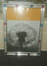 silver bling picture frame size A4