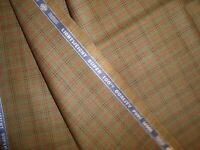 """2.38 yd HOLLAND SHERRY WOOL Snowy River Super 100s Suiting Fabric 8.5 oz 85"""" BTP"""